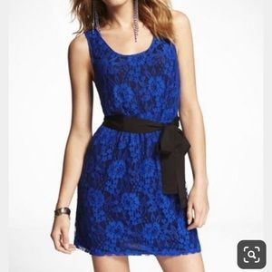 Express lace cocktail dress